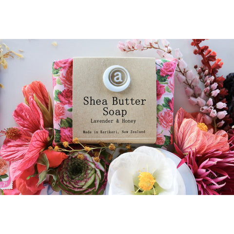 Shea Butter Soap all natural plant based hand made in NZ, buy at Vivre, Nelson, NZ, pamper skincare gifts for her