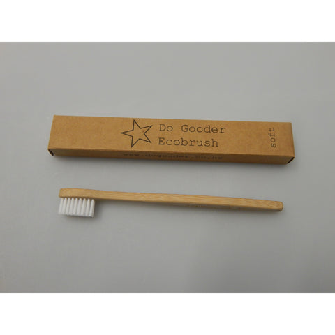 Eco-friendly Bamboo Toothbrush Adult & Kids Sizes