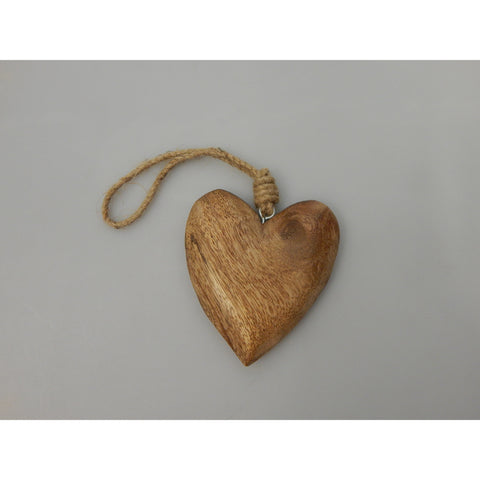 Medium Chunky Wooden Heart