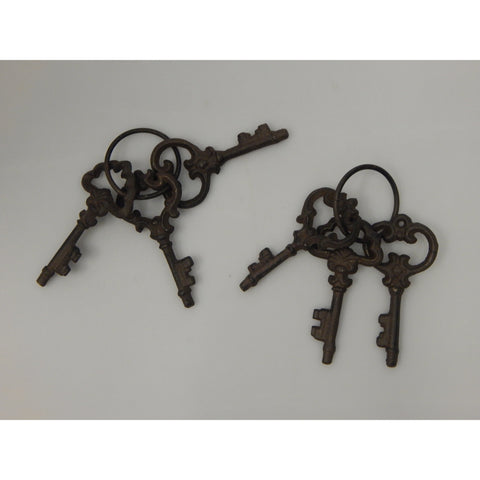 Set of 3 Jailors Keys