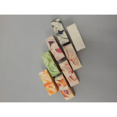 NZ handcrafted soap with goats milk and mulberry silk, buy now at Vivre, Nelson, NZ