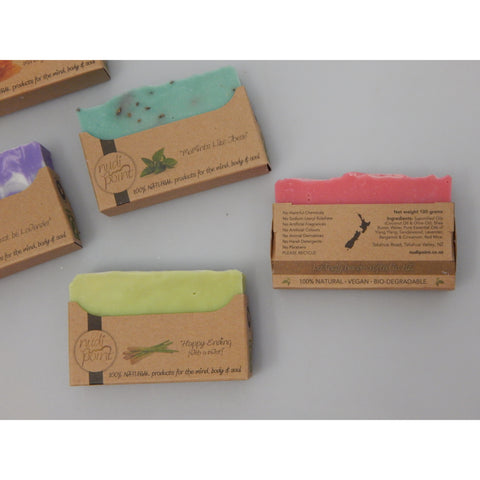 NZ handmade natural vegan soap at Vivre, Nelson, NZ great gift idea for the person who has everything