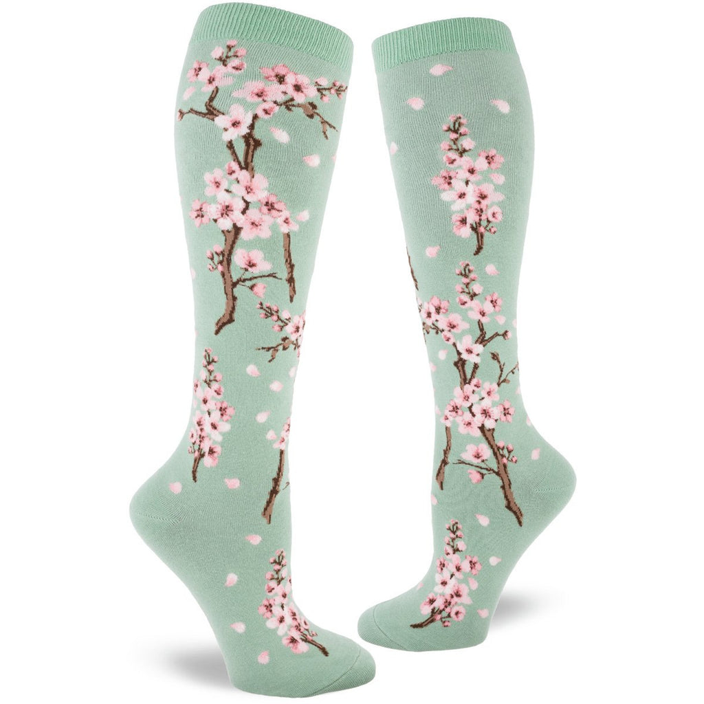 Buy fun funky womens crew and knee high socks at Vivre, Nelson, NZ cats, dogs, flowers, slots and more