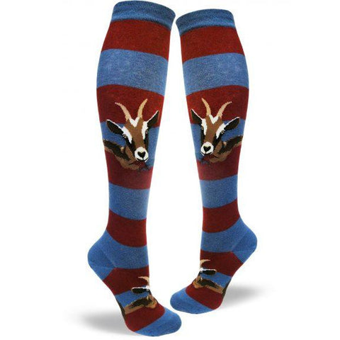 Hungry Goats Knee High Socks