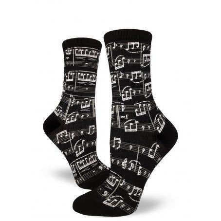 Musical Genius Crew Socks