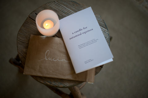 A Candle for Autumnal Equinox (Zine)