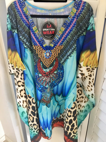 WILD FEATHER KAFTAN