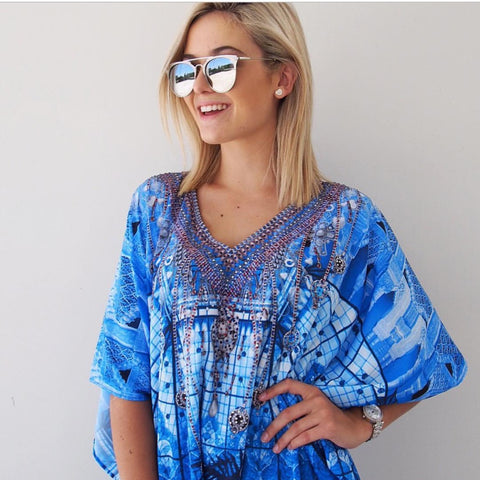 BLUE MOON KAFTAN - Spray Tan Wear