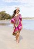 INDIAN ROSE KAFTAN
