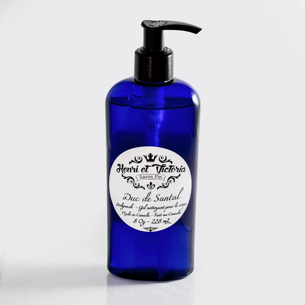 Duc de Santal | Bodywash | Body, Beard and Hair Cleanser and Conditionner | 250g