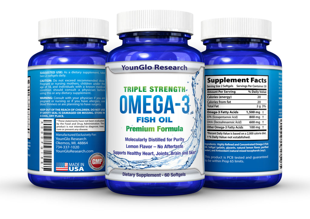 Omega 3 Fish Oil – YounGlo Research