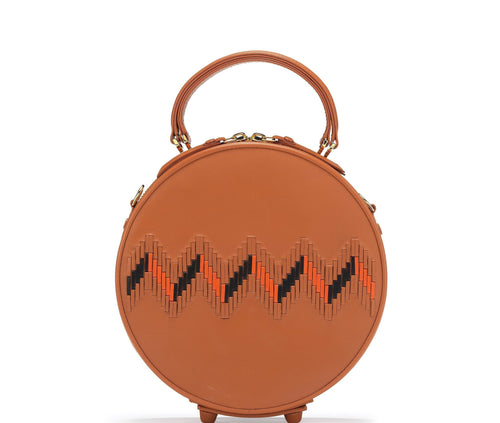 COCO WEAVE CIRCLE BAG