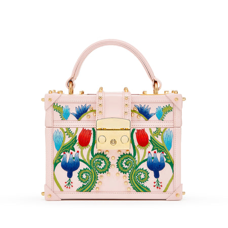 KELLY EMBROIDERED SADDLE BAG