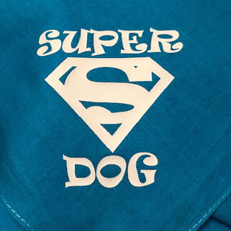 Dog Bandana.. Super Dog..