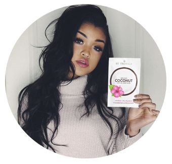 Koleen Diaz hot oil hair mask review