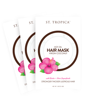 ST. TROPICA Coconut Oil Hair Mask 3-Pack
