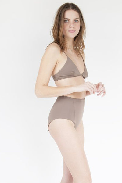 Linda High Waist Bottom in Pecan by Esby - WM GOODS