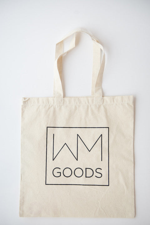 WM GOODS Tote Bag - WM GOODS