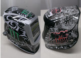 MILLER digital ELITE 257213  WELDING HELMET WRAP DECAL STICKER  jig welder badman