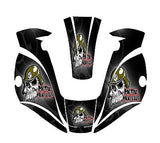MILLER TITANIUM 9400 7300 1600 WELDING HELMET WRAP DECAL STICKER  jig welder 9