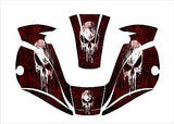 MILLER digital ELITE 257213 titanium WELDING HELMET WRAP DECAL STICKER welder 1