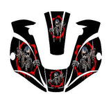 MILLER TITANIUM 9400 7300 1600 WELDING HELMET WRAP DECAL STICKER  jig welder 8