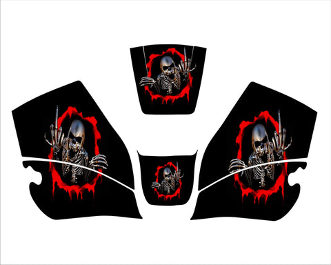 Jackson HALO X 12 PRO W60 HLX W10 HLT 100 BOSS WELDING HELMET DECAL STICKER 3