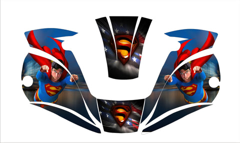 MILLER digital ELITE 257213  WELDING HELMET WRAP DECAL STICKER  jig welder super man 2
