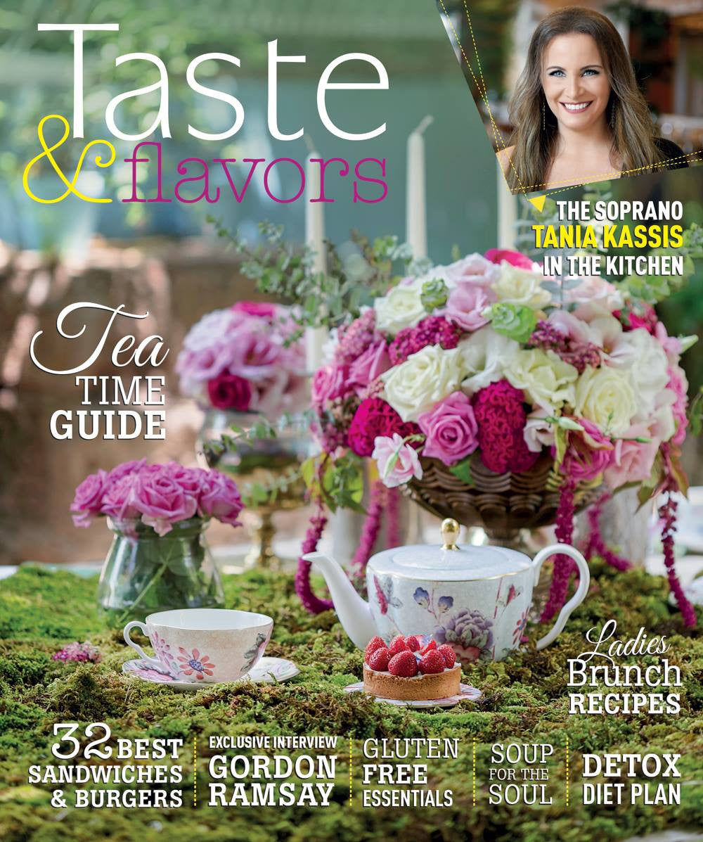 We are on the cover of Taste & Flavour