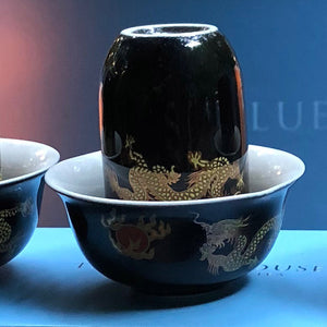 Imperial 3 Dragons Oolong Tea Cups - Limited Edition