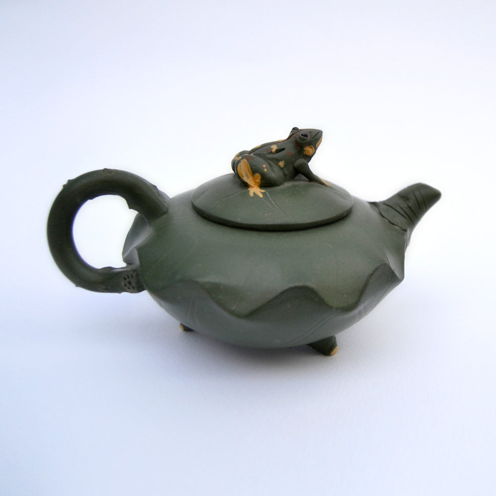Limited Edition Collector's Item Stoneware Teapot - THE BLUE HOUSE