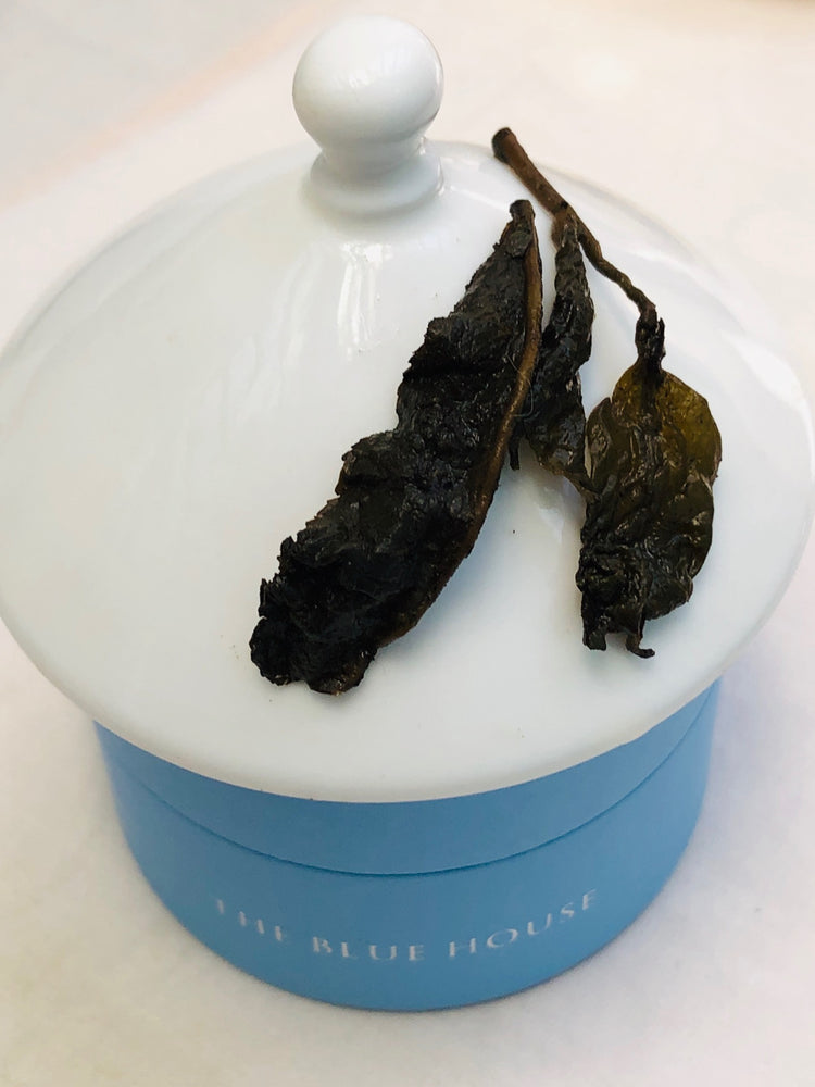 Organic Ginseng Oolong 1st flush - THE BLUE HOUSE