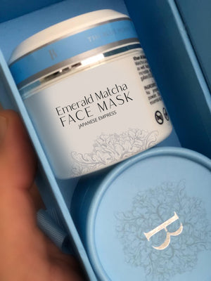 Emerald Matcha Face Mask - THE BLUE HOUSE