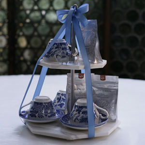 English Tea party Set - THE BLUE HOUSE