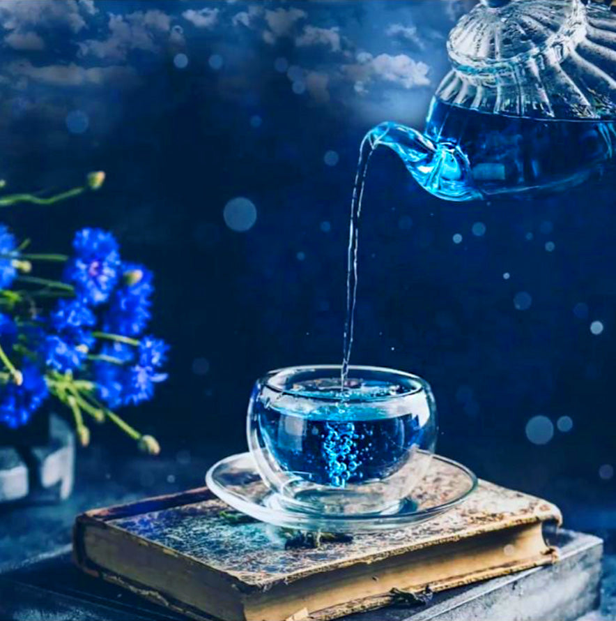 Blue Pea Butterfly Tea