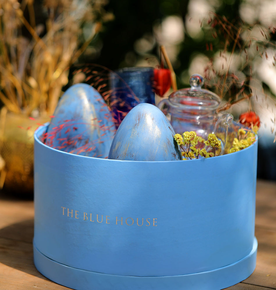 Royal Blue Easter Hamper