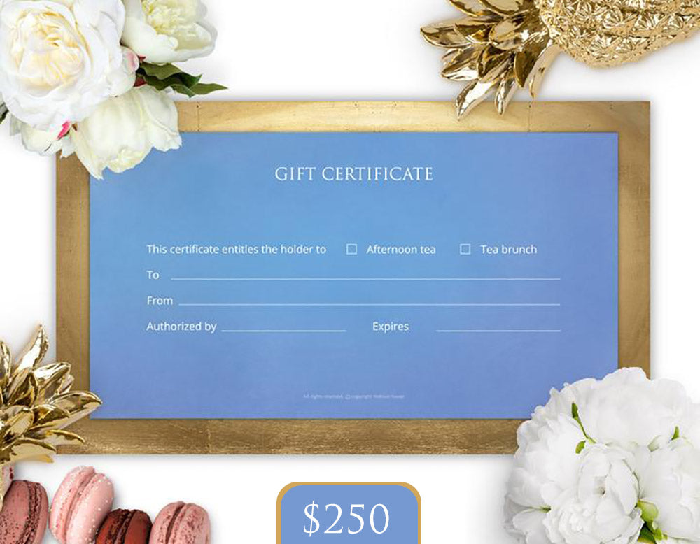 $250 Gift Card - THE BLUE HOUSE