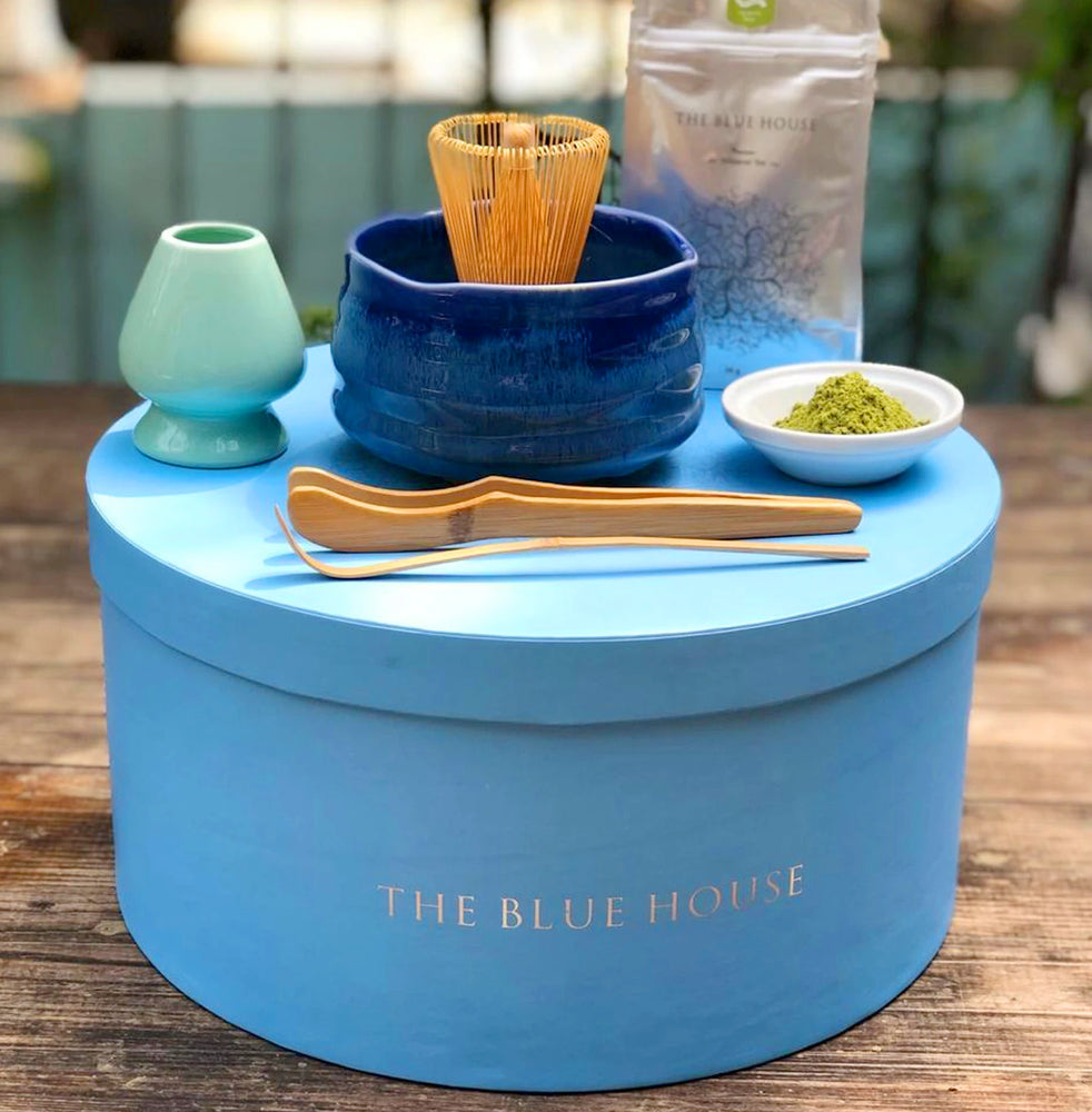 Japanese Ceremonial Matcha Set - THE BLUE HOUSE