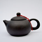 Tiny travel Stone teapot