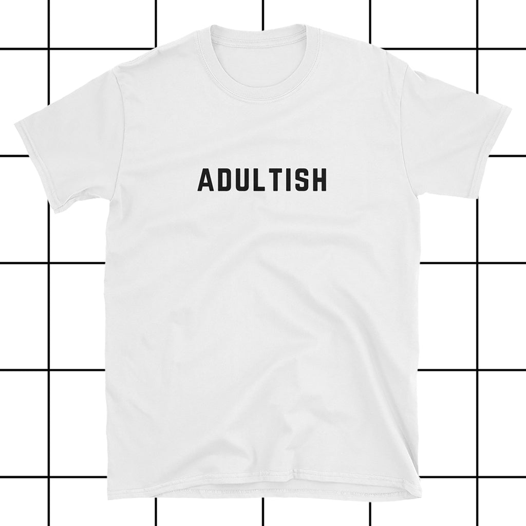 Adultish Vogue Typography Women's T-Shirt - directapparelco - 1