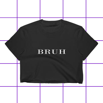 Bruh London Brit Couture Women's Crop Top