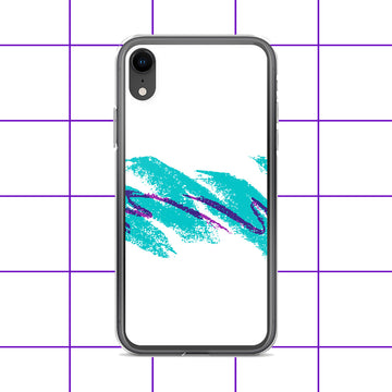 Turquoise Purple Grape Jazz Cup iPhone Case
