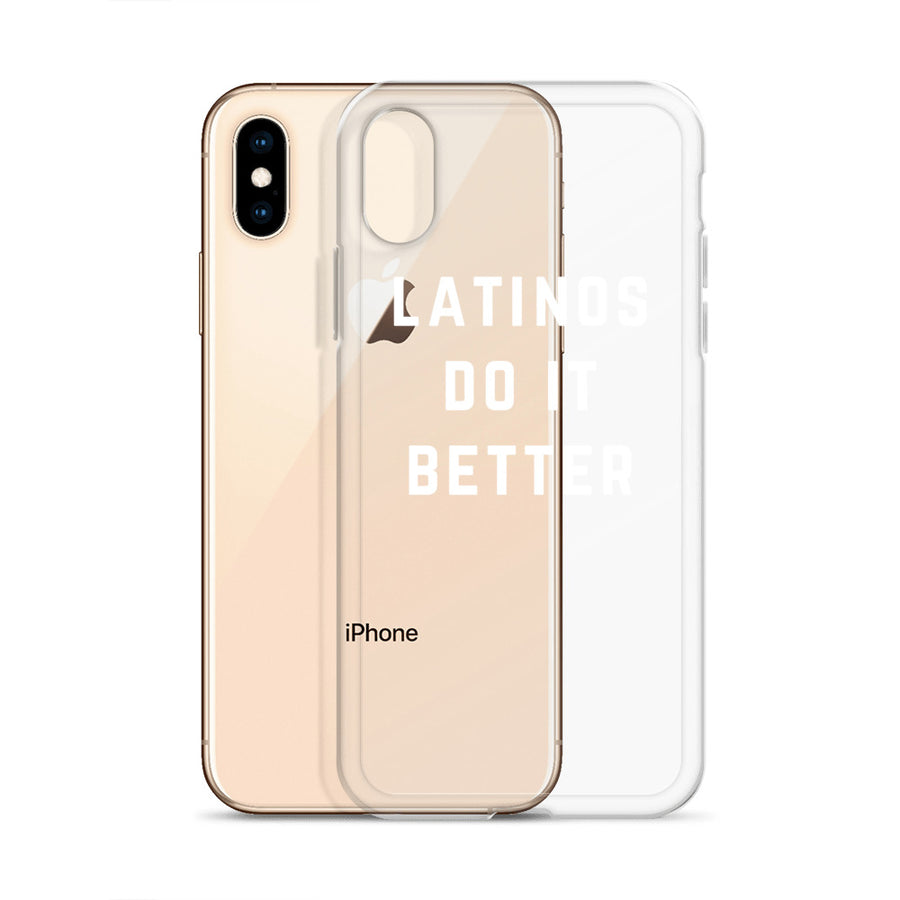 Latinos do it Better iPhone Case