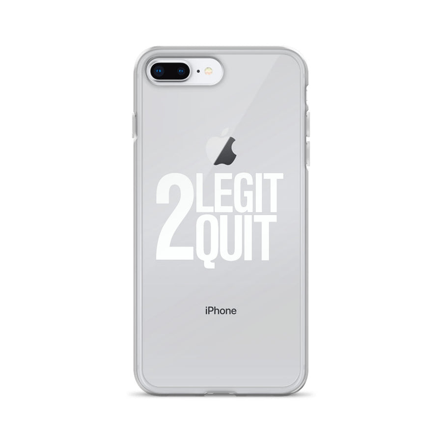 2 Legit 2 Quit 90's Retro Vintage Print iPhone Case