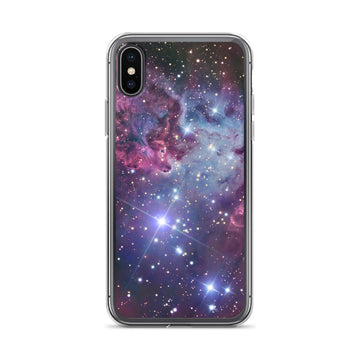 Galaxy Nebula Space Print iPhone Case