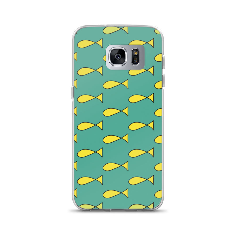 Princess Carolyn Fish Dress Cartoon Print Samsung Case