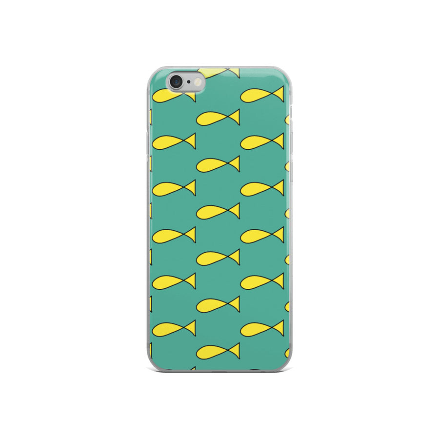 Princess Carolyn Fish Dress Print iPhone Case