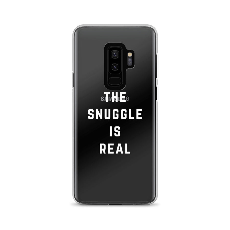 The Snuggle Is Real Clear Transparent Samsung Case