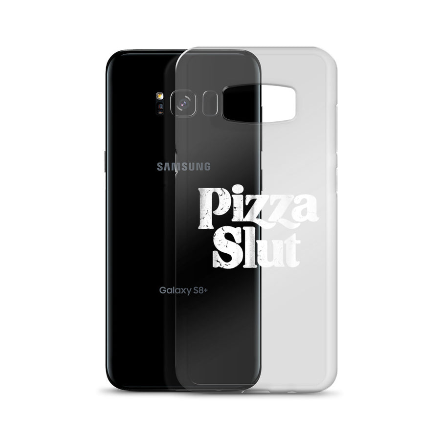 Pizza Slut Vintage clear transparent Samsung Case