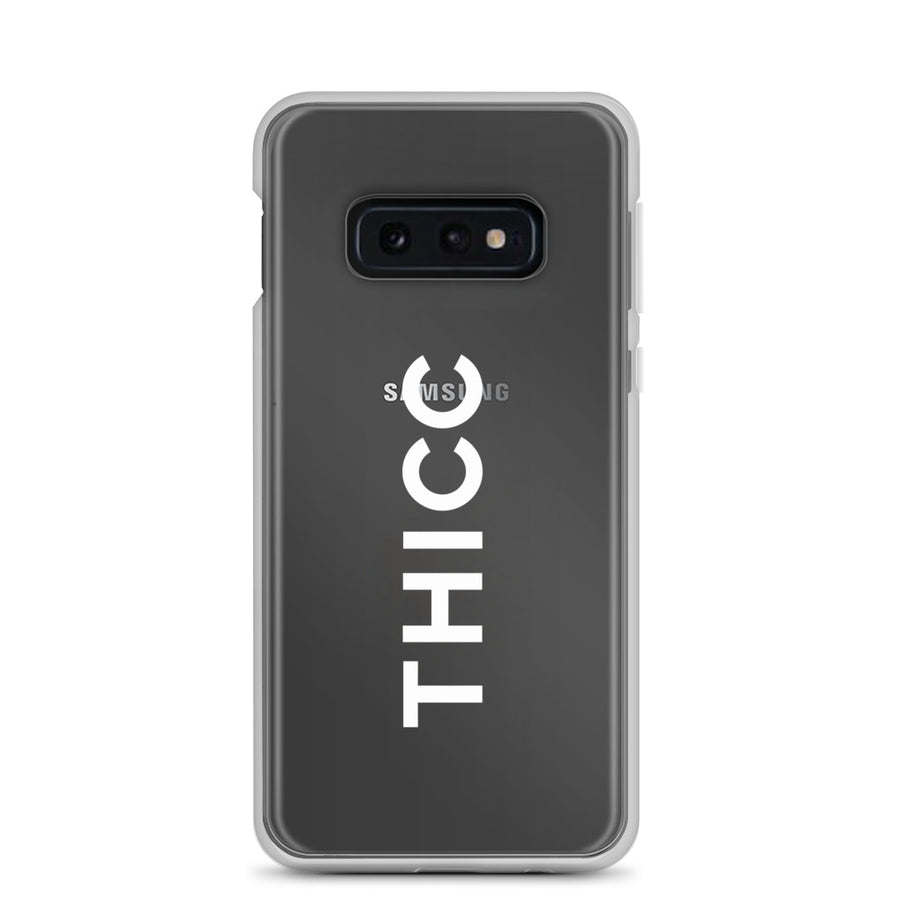 Thicc Couture Transparent Samsung Case